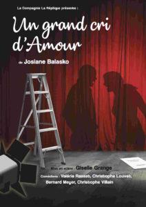 *UN GRAND CRI D'AMOUR – Au Théâtre du Mercredi Soir –