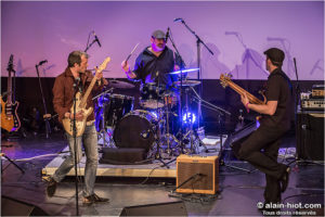 *Concert Groupe : FRED CRUVEILLER Blues Band (Trio – photo FCBB)