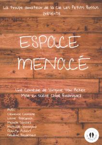*CAFÉ THÉÂTRE DU MERCREDI – «ESPACE MENACÉ!»