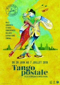 *FESTIVAL TANGO POSTALE AUX MARINS D'EAU DOUCE